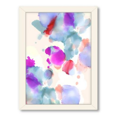 Americanflat Urban Road Collection Abyss Framed Art Work