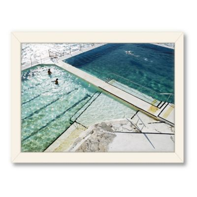 Americanflat Urban Road Collection Bondi Framed Art Work