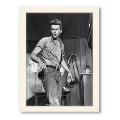 Americanflat Urban Road Collection James Dean Black Framed Art Work