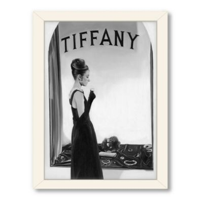 Americanflat Urban Road Collection Tiffany Black Framed Art Work
