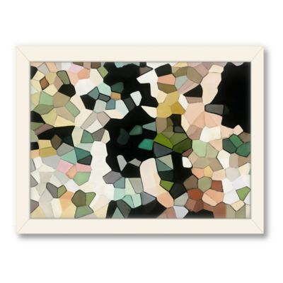 Americanflat Urban Road Collection Camouflage Framed Art Work