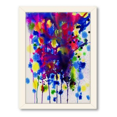 Americanflat Urban Road Collection Colour Bomb Framed Art Work
