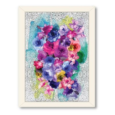 Americanflat Urban Road Collection Bouquet Framed Art Work