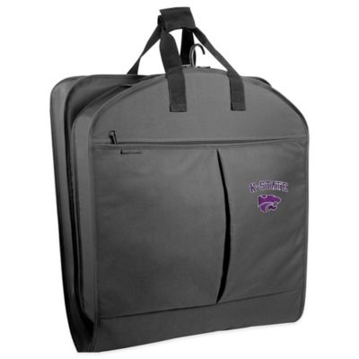 Kansas State University 40-Inch Garment Bag with Pockets and Handles