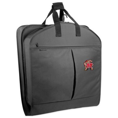 University of Maryland 40-Inch Garment Bag with Pockets and Handles