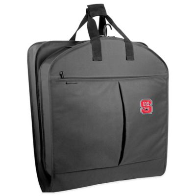 North Carolina State University 40-Inch Garment Bag with Pockets and Handles