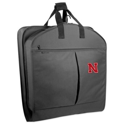 University of Nebraska 40-Inch Garment Bag with Pockets and Handles
