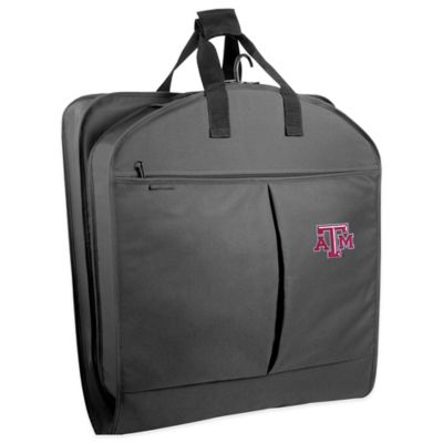 Texas A&M University 40-Inch Garment Bag with Pockets and Handles