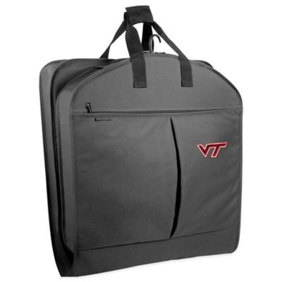 Virginia Tech 40-Inch Garment Bag with Pockets and Handles