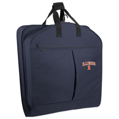 University of Illinois 40-Inch Garment Bag with Pockets and Handles