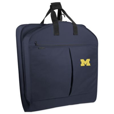 University of Michigan 40-Inch Garment Bag with Pockets and Handles