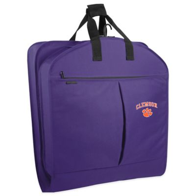 Clemson University 40-Inch Garment Bag with Pockets and Handles