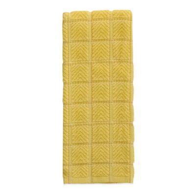 Fiesta® Solid Kitchen Towel in Sunflower