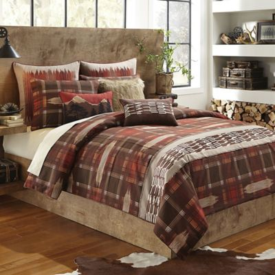 Croscill® Wagner Twin Duvet Cover in Paprika