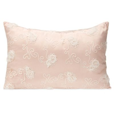 Glenna Jean Lil Princess Small Pillow Sham in Pink/Cream