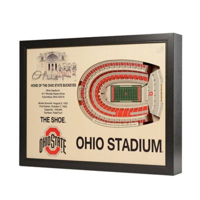 Ohio State University Stadium Views Wall Art