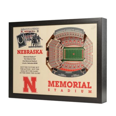 University of Nebraska Stadium Views Wall Art