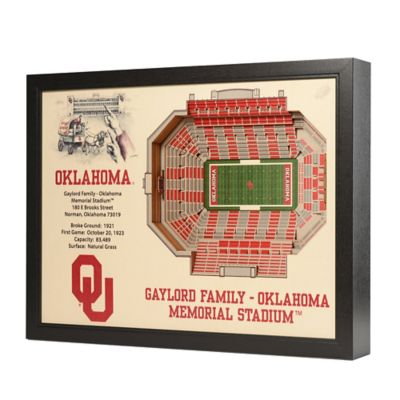 University of Oklahoma Stadium Views Wall Art