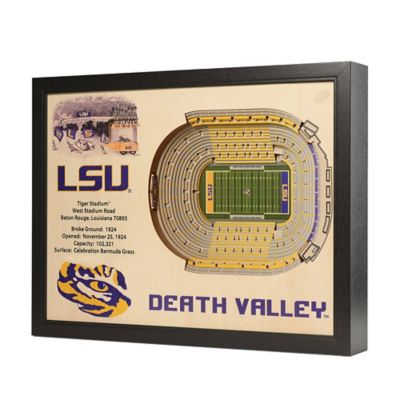 LSU Stadium Views Wall Art