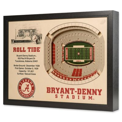 University of Alabama Stadium Views Wall Art