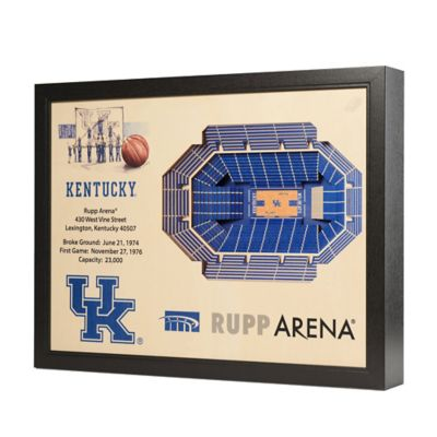 University of Kentucky Stadium Views Wall Art
