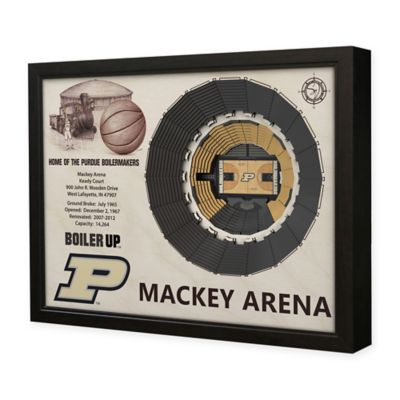 Purdue University Stadium Views Wall Art