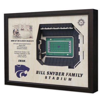 Kansas State University Stadium Views Wall Art