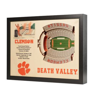 Clemson University Stadium Views Wall Art