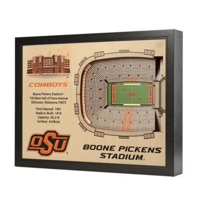 Oklahoma State University Stadium Views Wall Art