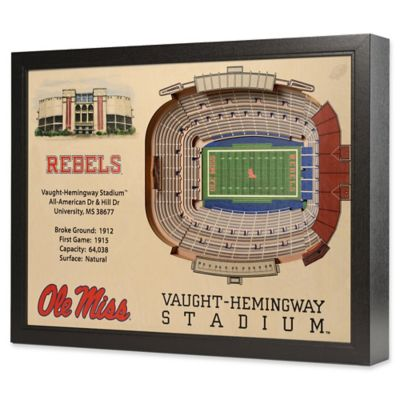 University of Mississippi Stadium Views Wall Art