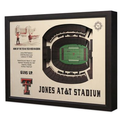 Texas Tech University Stadium Views Wall Art