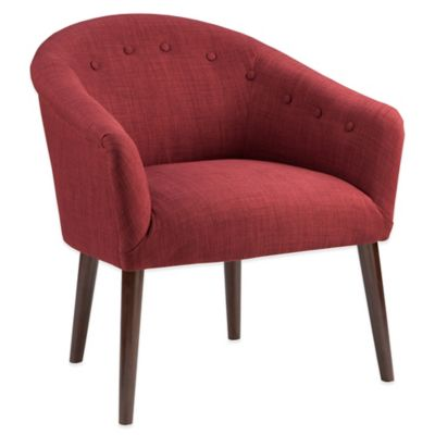 Madison Park Camilla Chair in Brick