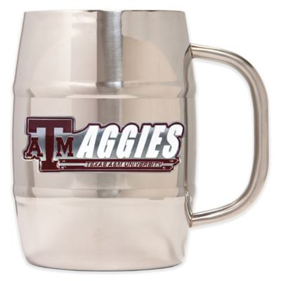 Texas A&M University Large Barrel Mug
