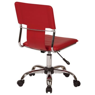 Carina Task Chair in Red