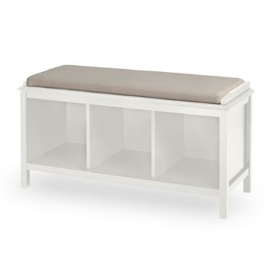 Ivory Entryway Bench
