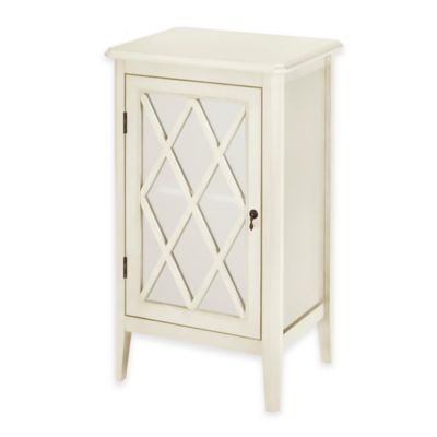 Chatham House Argyle 1-Door Cabinet in Ivory