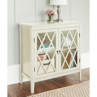 Chatham House Argyle 2-Door Cabinet in Ivory
