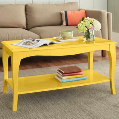 Chatham House Helena Coffee Table in Yellow