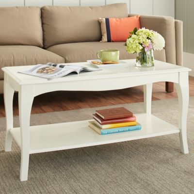 Chatham House Helena Coffee Table in Ivory