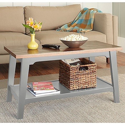 Chatham House Newport Coffee Table In Grey Bed Bath Beyond