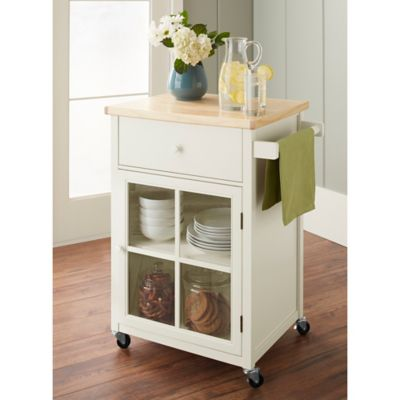 Chatham House Baldwin Kitchen Cart in Ivory