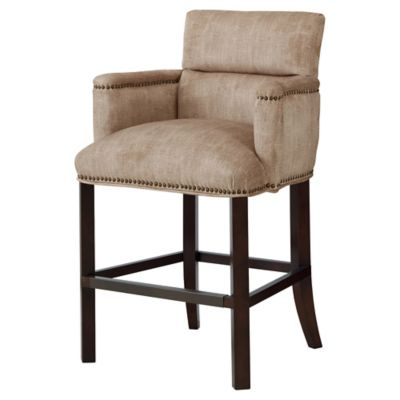 Madison Park Clairmont Counter Stool in Taupe
