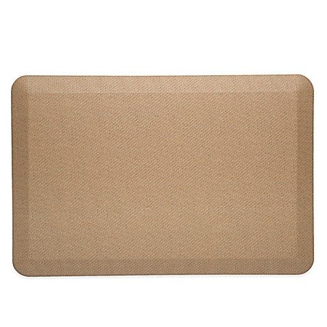 imprint cumuluspro 20 inch x 30 inch anti fatigue kitchen mat in natural www. Black Bedroom Furniture Sets. Home Design Ideas