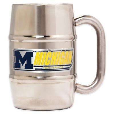 University of Michigan Barrel Mug