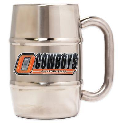 Oklahoma State University Barrel Mug