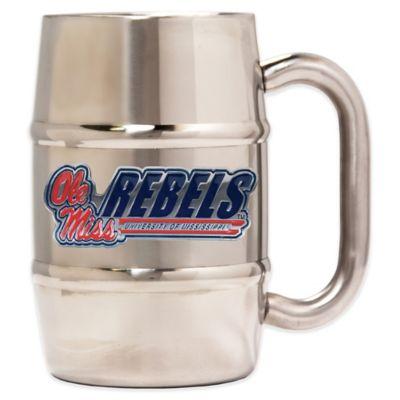 University of Mississippi Barrel Mug