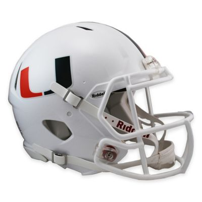 Riddell® University of Miami Authentic Revolution Speed Helmet