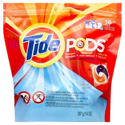 Tide® Pods™ 16-Count Laundry Detergent in Ocean Mist