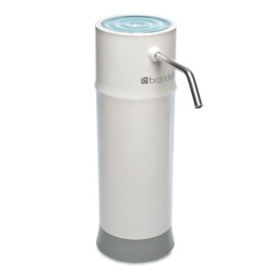 Brondell® H2O+ Pearl Countertop Water Filtration System in White