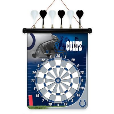 NFL Indianapolis Colts Magnetic Dart Board